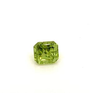 0.62ct Peridot - Octagon