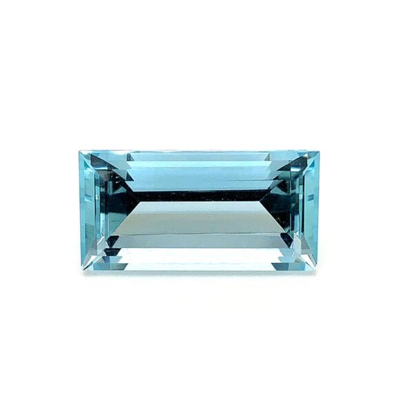 7.64ct Aquamarine - Rectangular