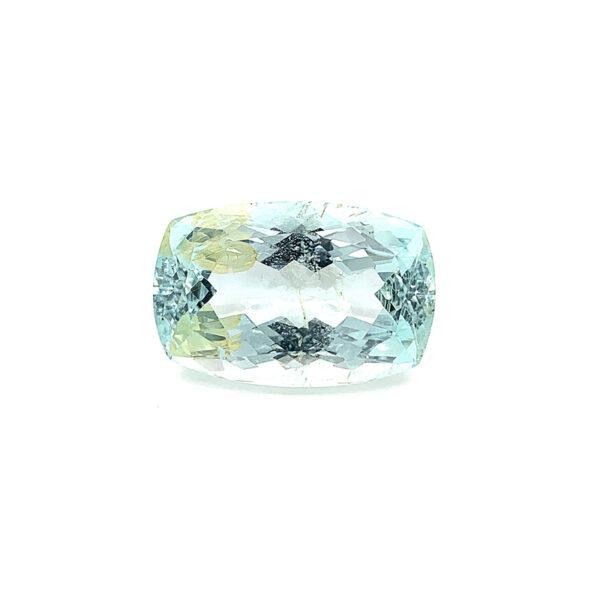 20.48ct Natural Aquamarine - Cushion