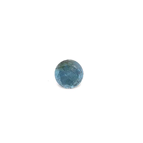 0.76ct Aquamarine - Round